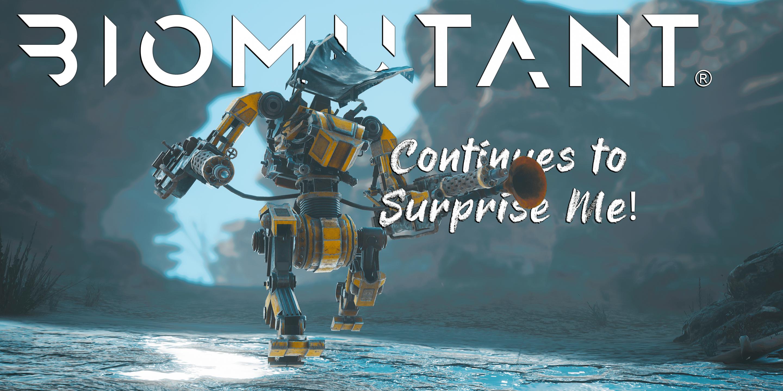 Biomutant Continues to Surprise Me