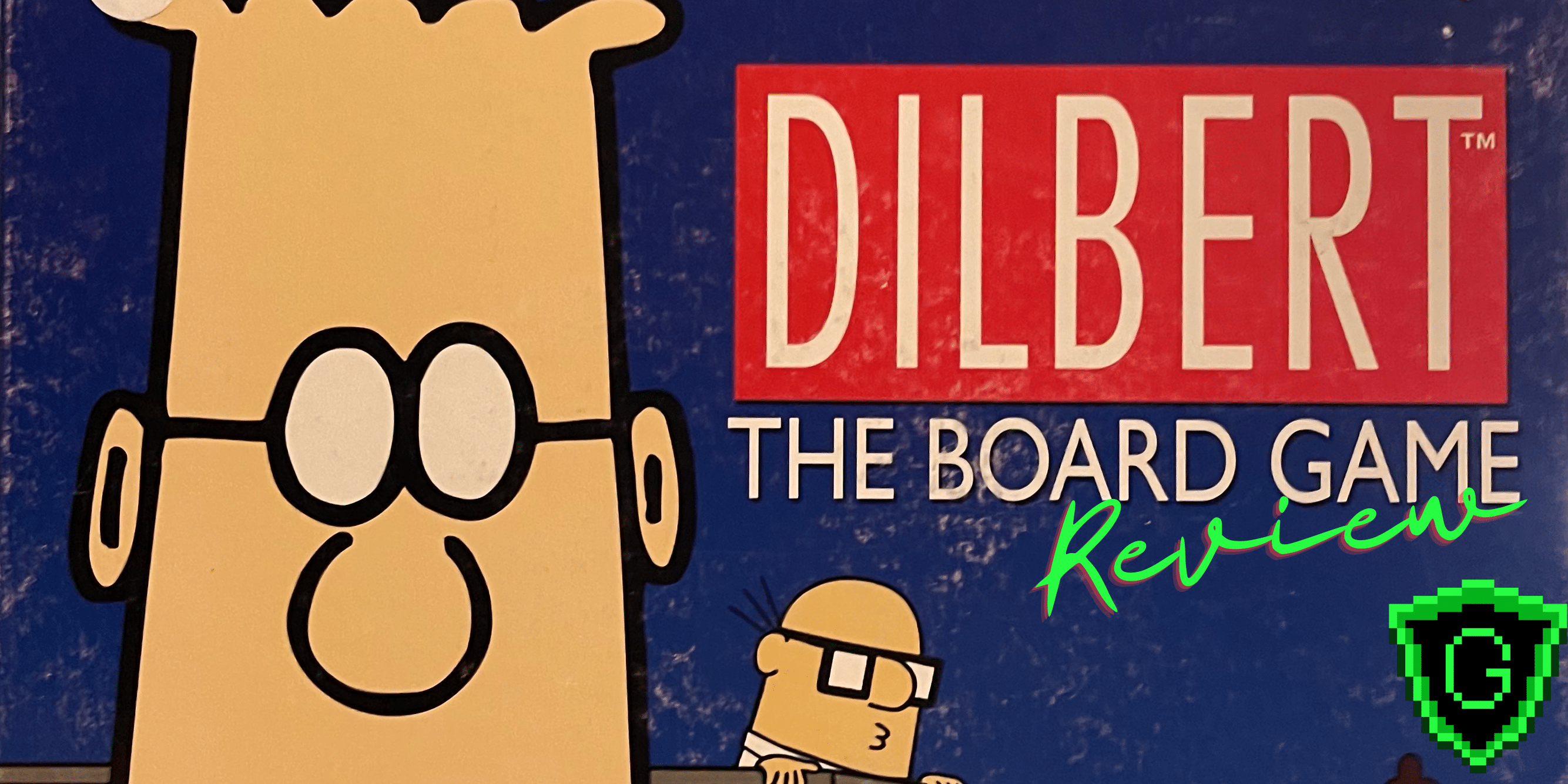 Dilbert Had A Board Game? Apparently, Yes.