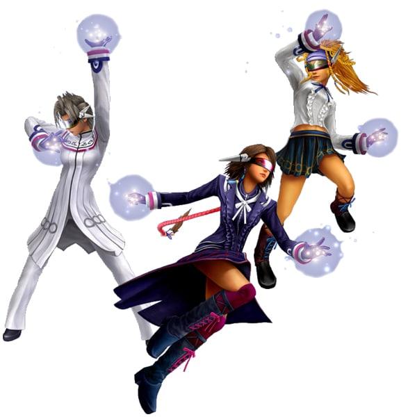 Final Fantasy X2 Dresspheres 1