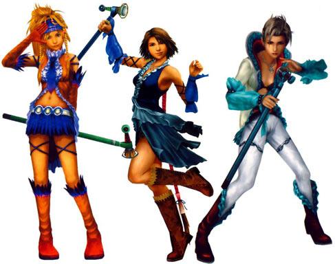 Final Fantasy X2 Dresspheres 2