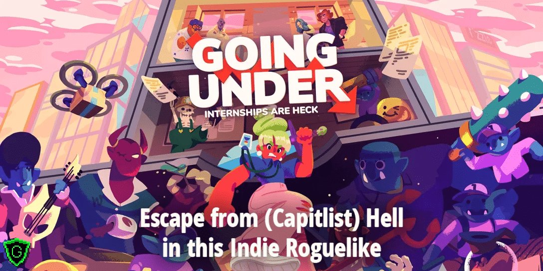 Going Under (Switch) Review – Escape from (Capitalist) Hell in this Indie Roguelike