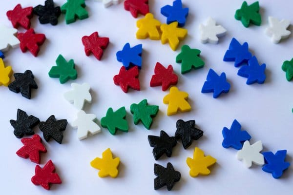 a group of meeples