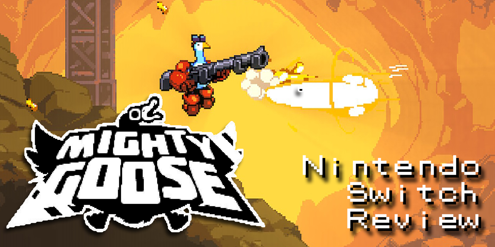 Mighty Goose (Switch) Review – Waterfowl-centric Run-n-Gun Action