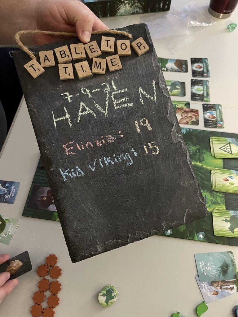 Haven Scoreboard