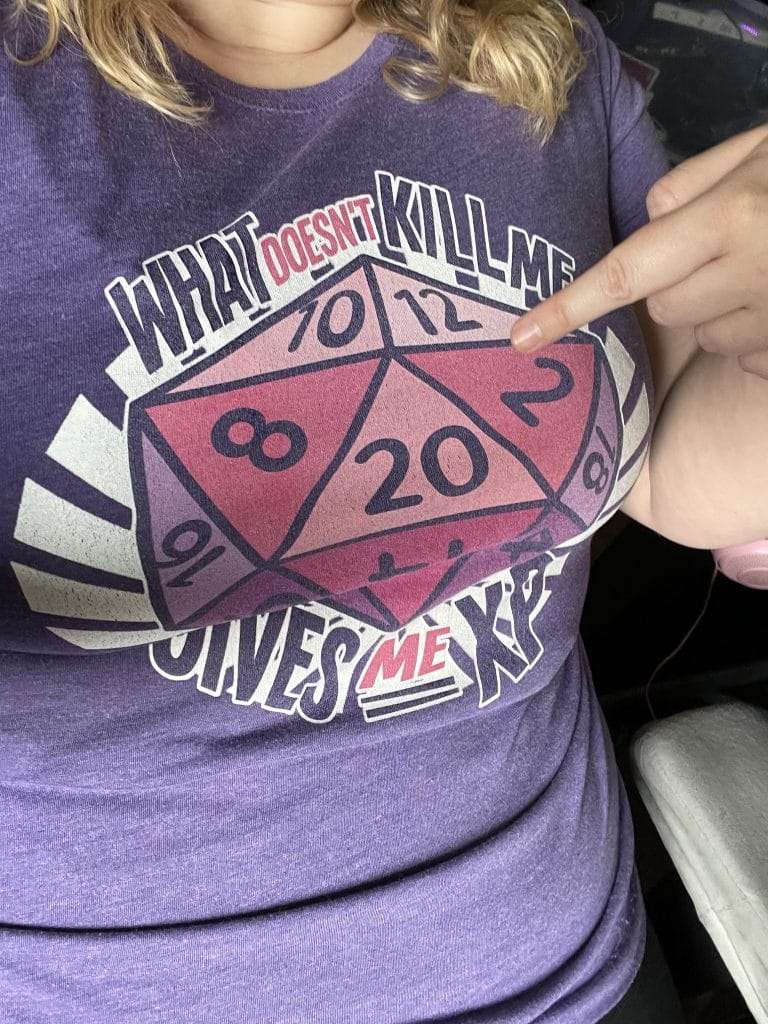 The shirt from Dungeon Glitch