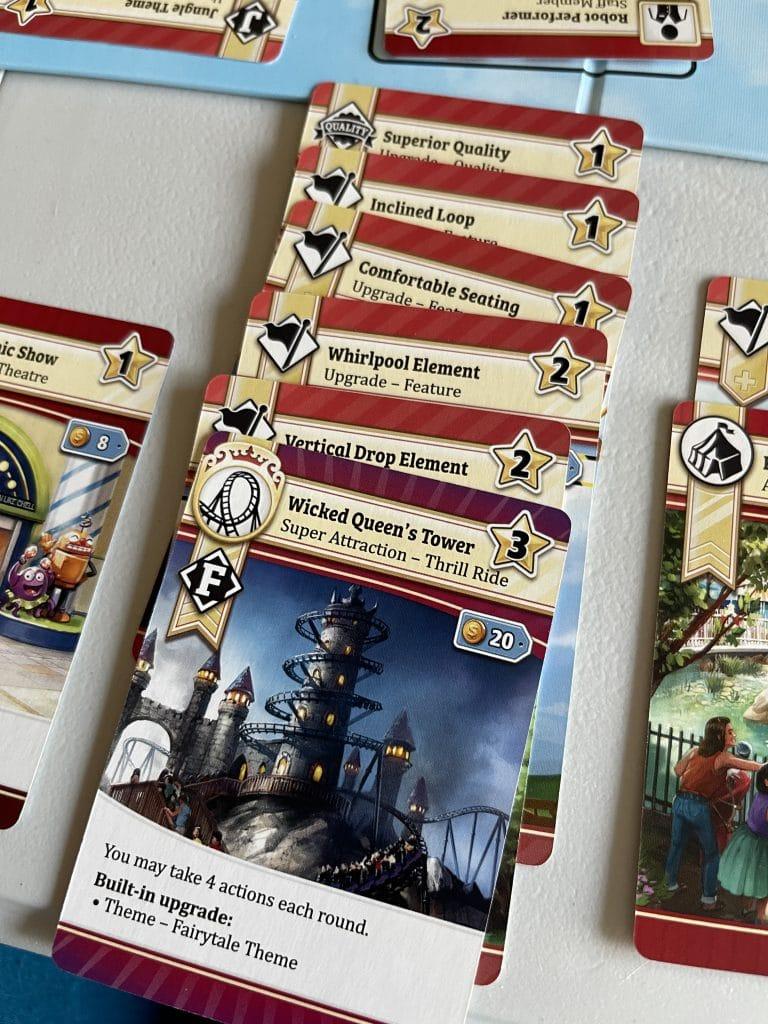 cards for Funfair