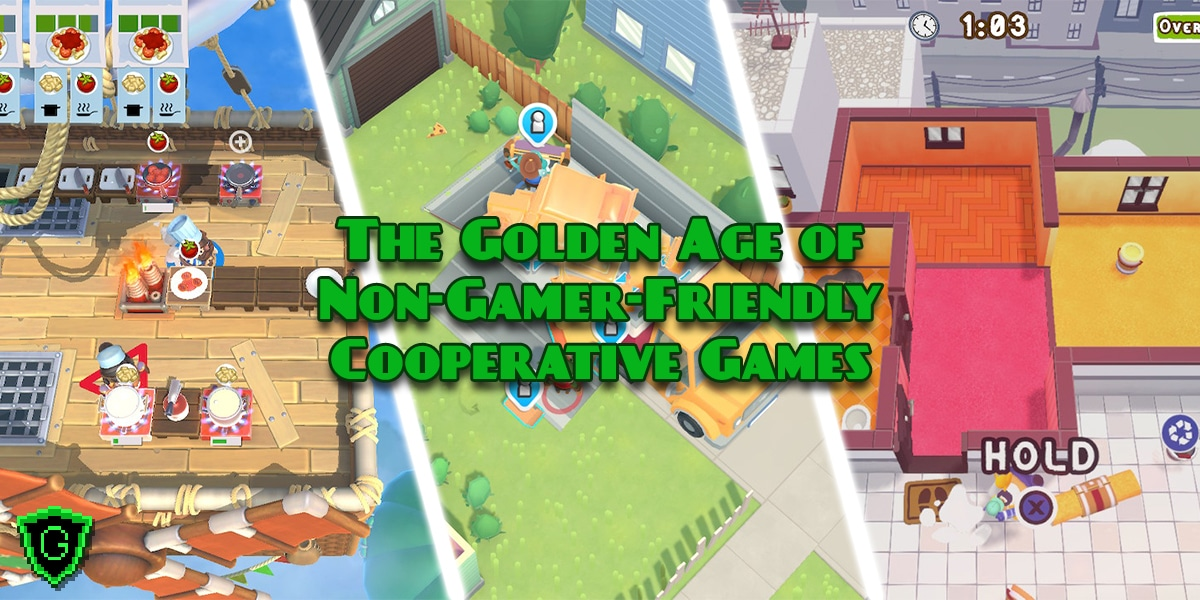 The Golden Age of Non-Gamer-Friendly Cooperative Games