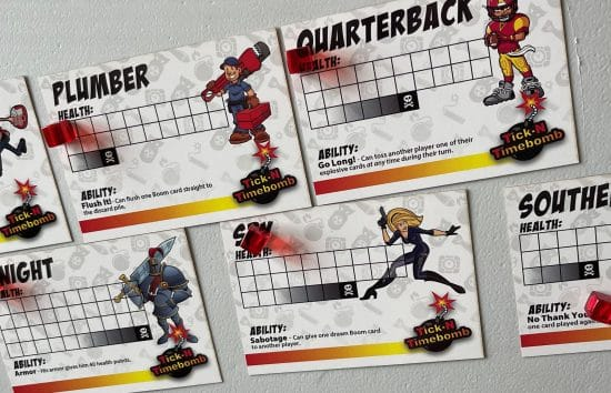 The Player Cards