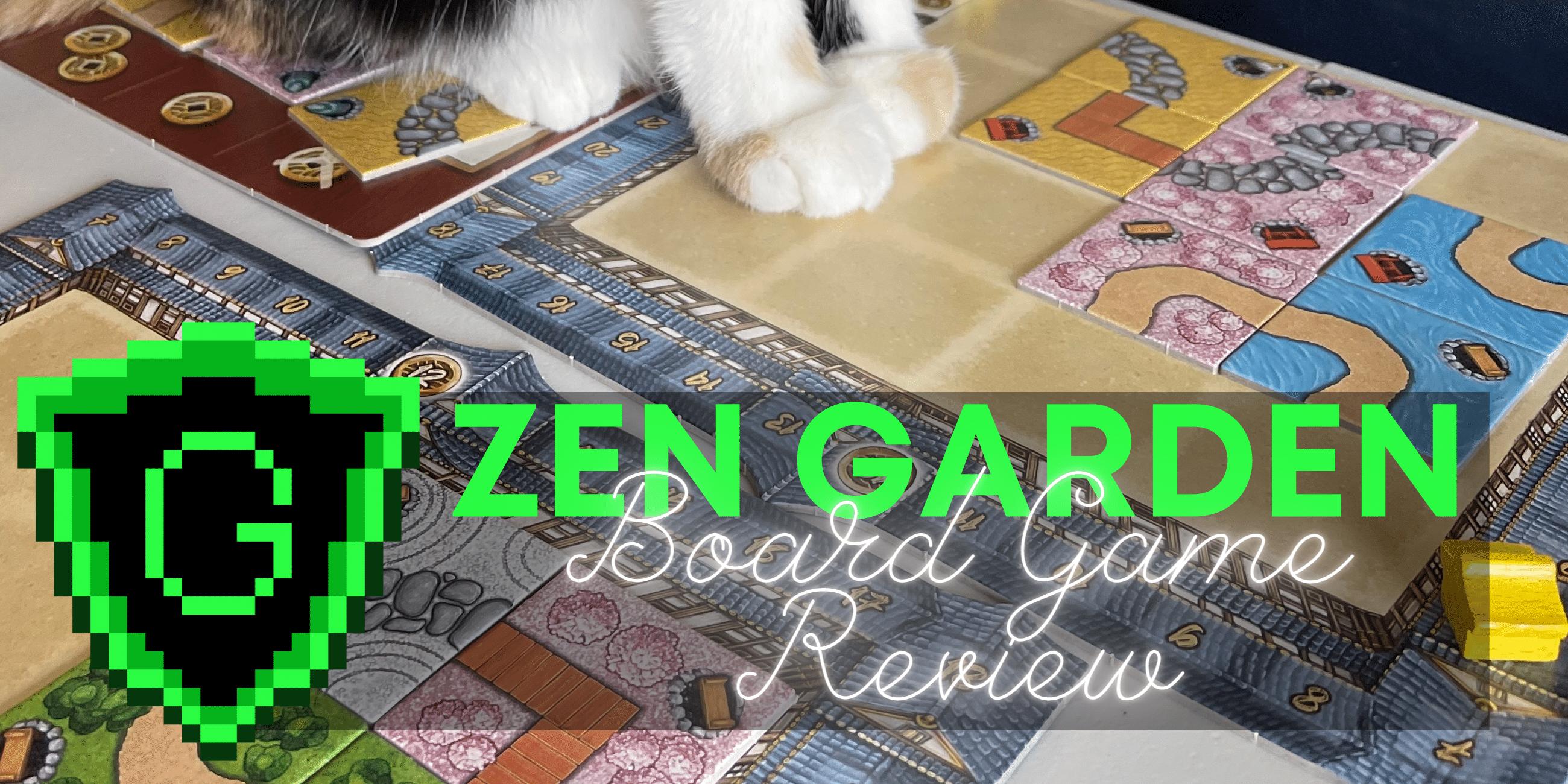 Zen Garden: The Zenist Board Game