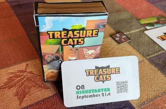 Treasure Cats is coming to Kickstarter