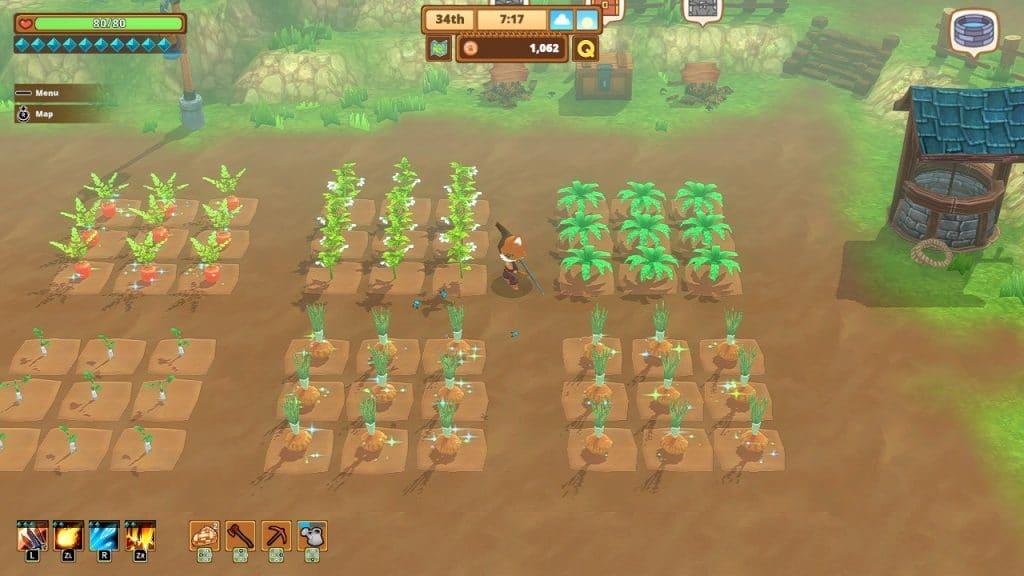 Farming in Kitaria Fables