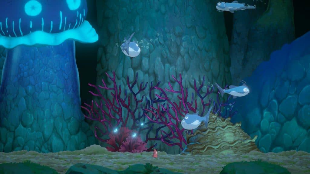 The underwater area in Hoa
