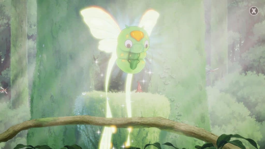 The butterfly creature in Hoa