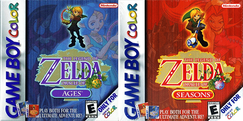 Legend of Zelda Oracle of Ages and Oracle of Seasons