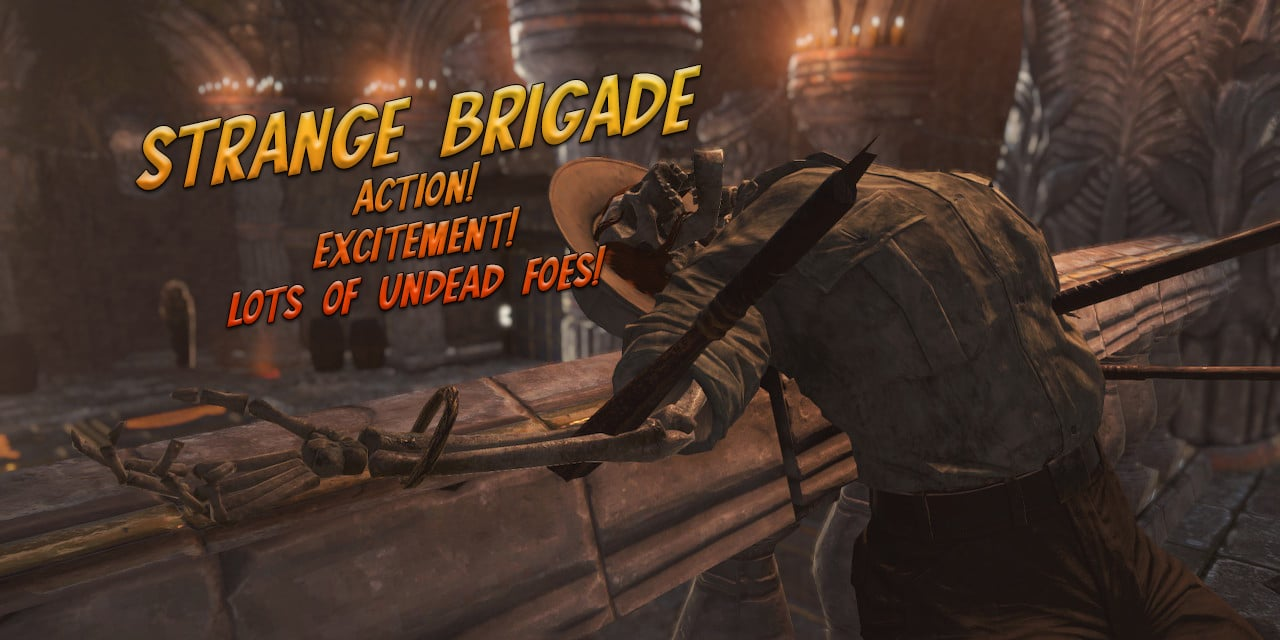 Strange Brigade (Nintendo Switch) Review: Action! Excitement! Lots of undead enemies!