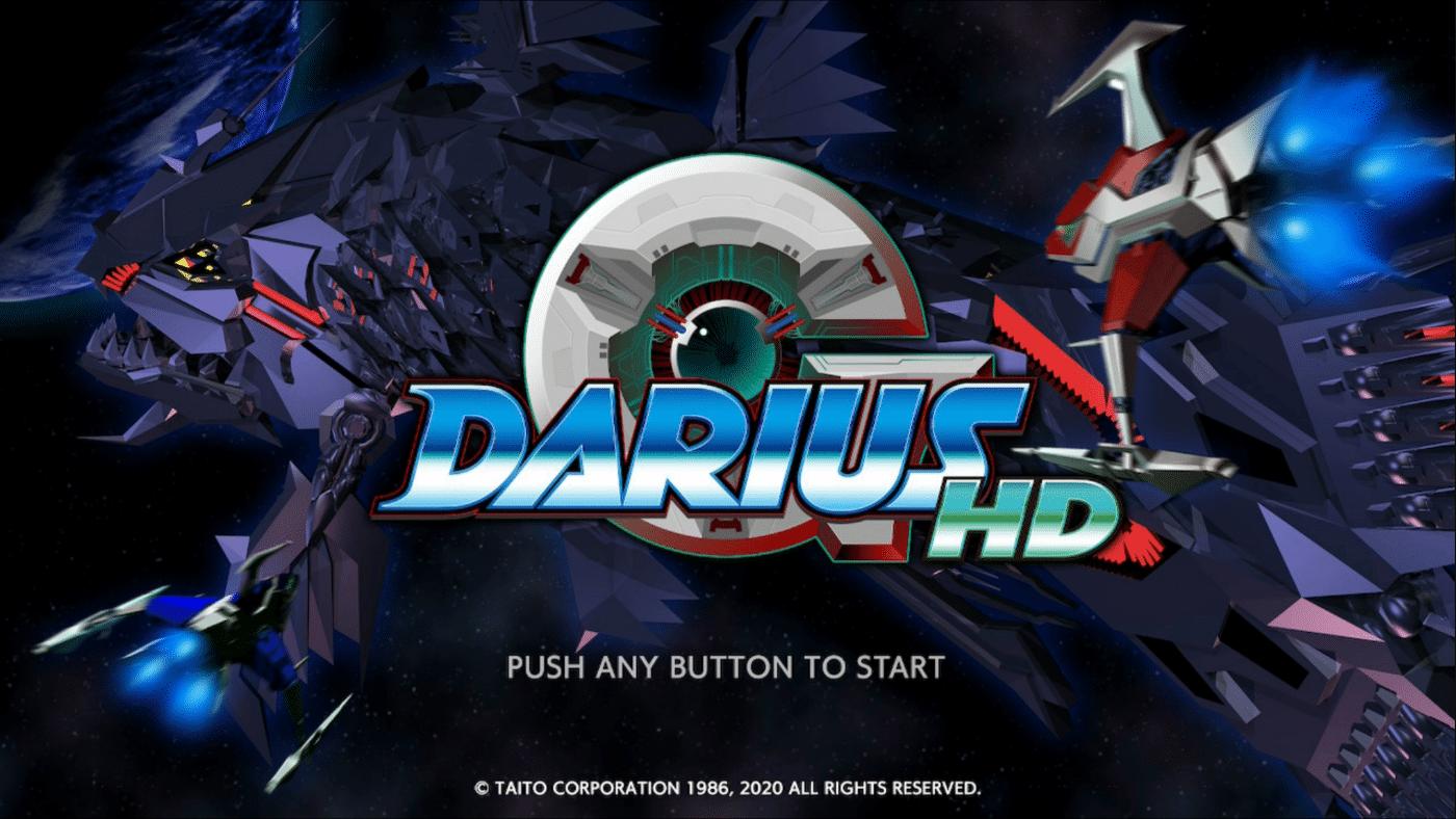 G Darius HD shmup