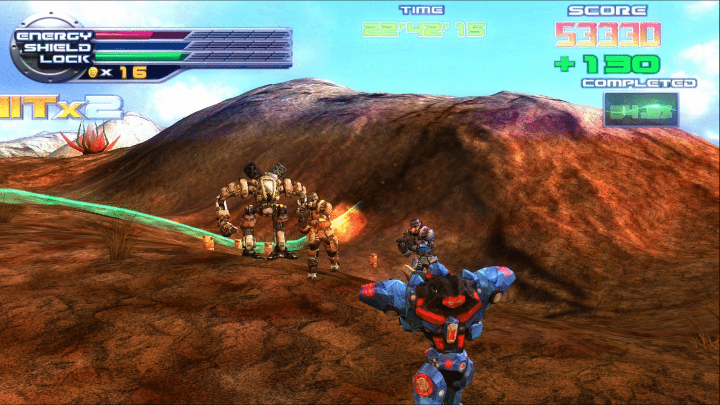 ExZeus 2 flying and ground shmup
